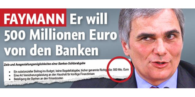 Koalition bittet Banken zur Kasse
