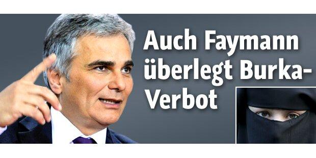 Burka-Verbot auch für Faymann denkbar