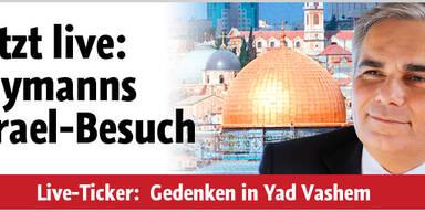 Faymann in Israel auf Kreiskys Spuren
