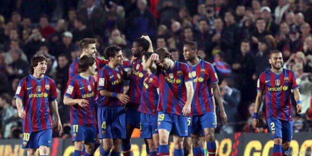 Barcelona festigt Tabellenführung mit 3:0-Heimsieg