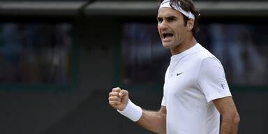 Federer spaziert ins Halbfinale