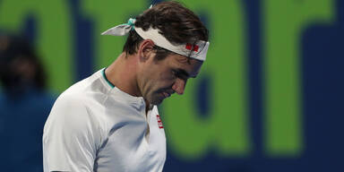 Überraschung! Federer nur mit Kurzauftritt in Doha