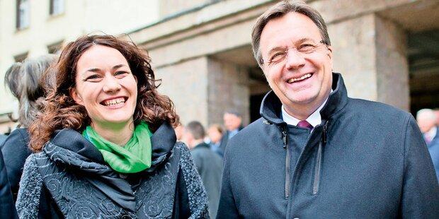 Schwarz-grüne Koalition in Tirol fix