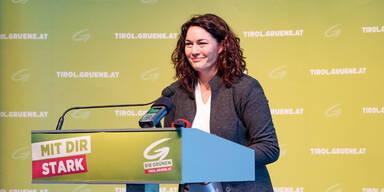 Tiroler Grüne kürten Felipe zur Spitzenkandidatin