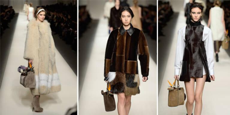 Fendi verkündet erste Pelz-Couture-Kollektion