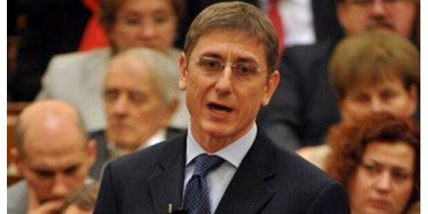 Gyurcsany als SP-Chef zurückgetreten