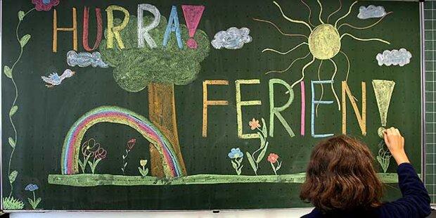 Das sind die freien Tage im Schuljahr 2012/2013