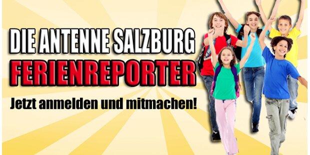 Die Antenne Salzburg Ferienreporter!