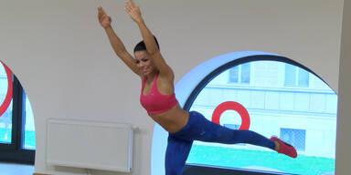 Trainieren mit den Stars: Fernanda Brandao