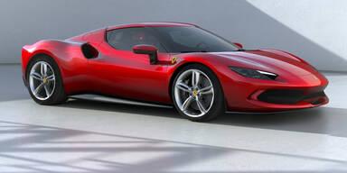 Neuer Plug-in-Hybrid-Ferrari 296 GTB mit V6