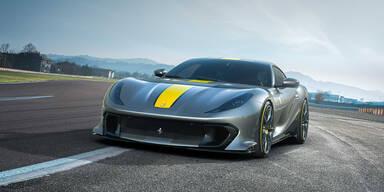 Ferrari 812 Competizione ist ein Drehzahlbiest