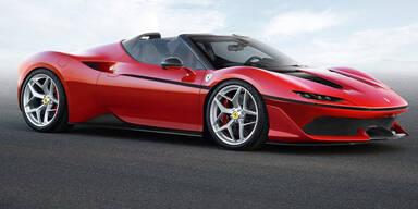 Ferrari bringt den spektakulären J50