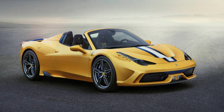 Ferrari bringt den 458 Speciale A