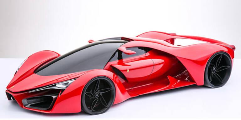 So soll der neue Über-Ferrari aussehen