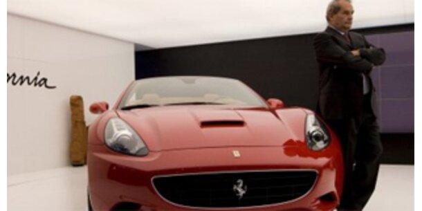 Ferrari fährt einen Absatzrekord ein