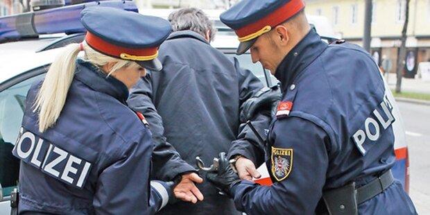 WEGA-Einsatz in Wien: Mann bedroht Ehefrau mit Waffe