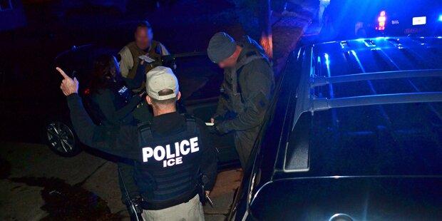 Trump lässt Hunderte Einwanderer festnehmen