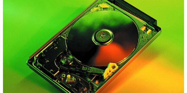 Erste Notebook-Harddisk mit 320 GB