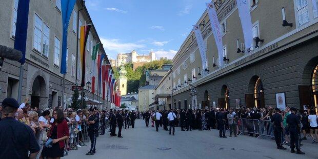 Fest zur Salzburger Festspieleröffnung
