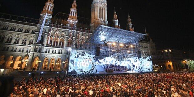 Song Contest am Wiener Rathausplatz