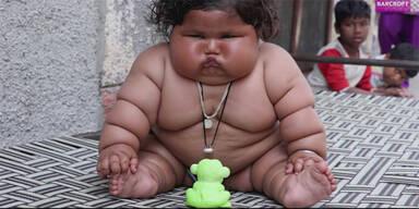 Ist SIE das fetteste Baby der Welt?