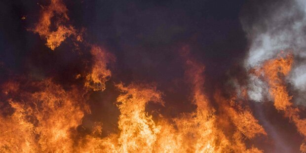 Sauna in Einfamilienhaus ging in Flammen auf