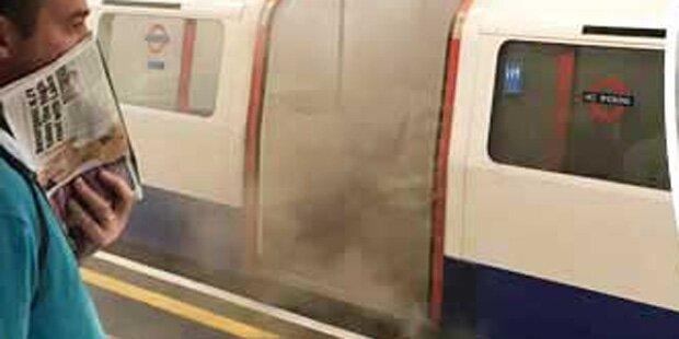 Feuer in berühmter Londoner U-Bahn-Station