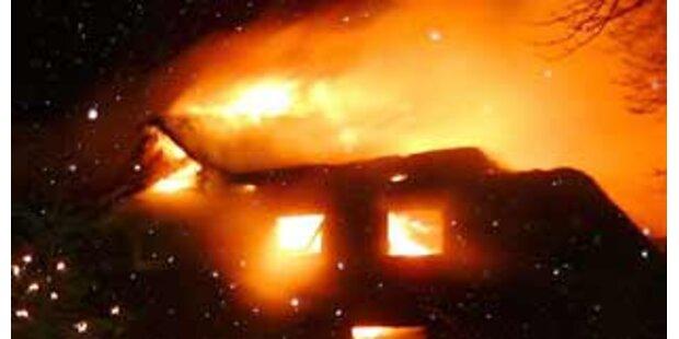 Benzin als Auslöser für Hausbrand im Burgenland