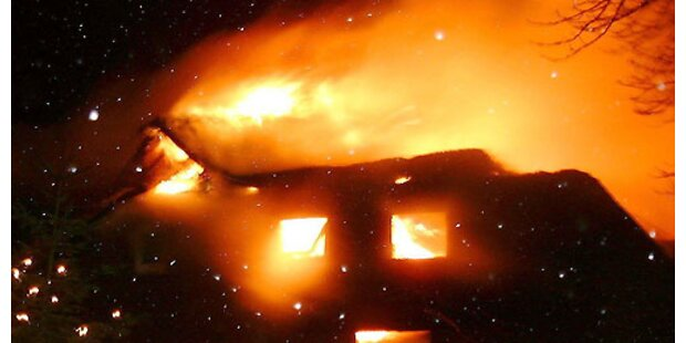 Rauchfangkehrer verursachte Groß-Brand