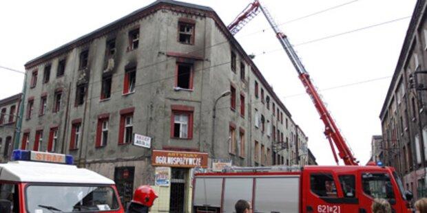 Haus in Polen abgebrannt: 5 Tote