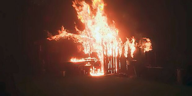 Feuerwehr-Kommandant legt selbst 7 Brände