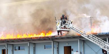 Grazerin wurde bei Zimmerbrand verletzt