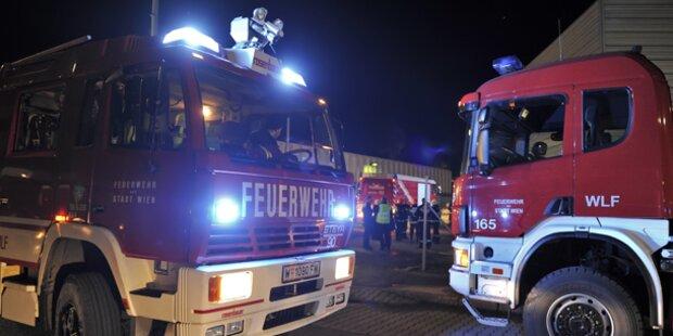 Brand in Futter-Werk