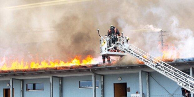 Feuerwehr war alle 12 Minuten im Einsatz