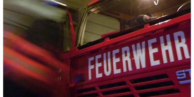 Feuer in Münchener U-Bahnhof
