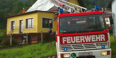 Pkw-Lenker bei 100 Meter Absturz verletzt