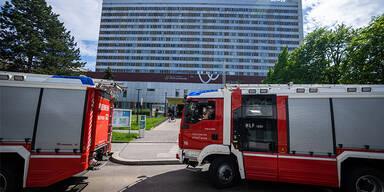 Feuerwehreinsatz in Wiener Rudolfstiftung