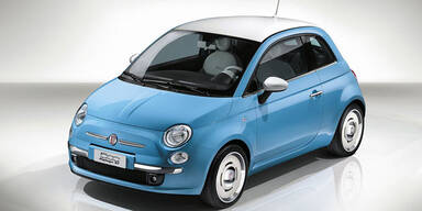 "Fiat 500 ""Vintage 75"" feiert Premiere"