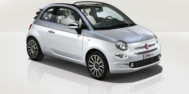 Jetzt startet der Fiat 500 Collezione