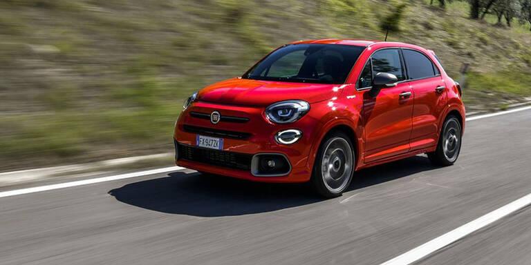 Fiat bringt den 500X Sport an den Start