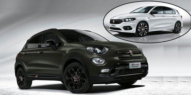 Fiat bringt 500X und Tipo als S-Design