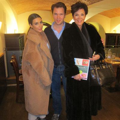 Kim Kardashian beim Figlmüller