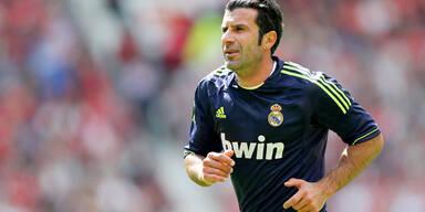 Star-Kicker Figo fordert Blatter heraus