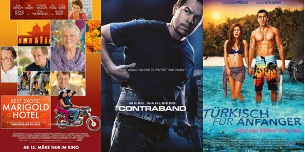 Strand, Urlaubsflair und  viel Action im Kino