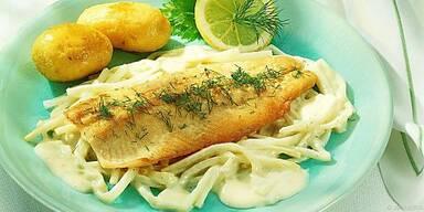Fisch in jeder Form, Hauptsache einmal pro Woche