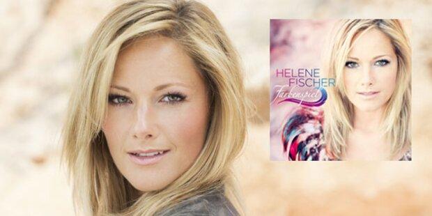 Farbenspiel: Helene Fischer ist Chart-Königin