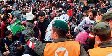 Flüchtlinge Österreich Slowenien