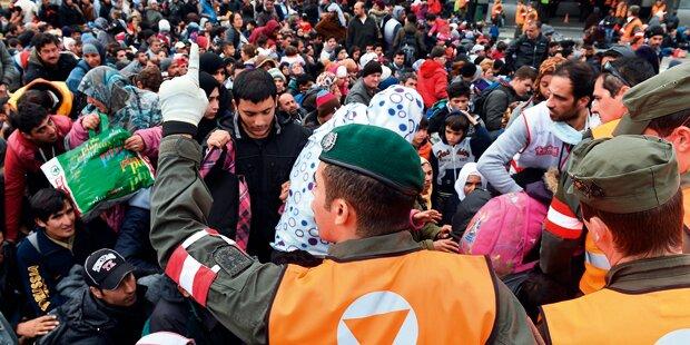 200 Schüler spielen heute Flüchtlinge
