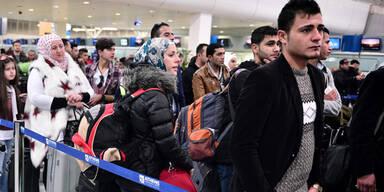 Flüchtlinge Athen