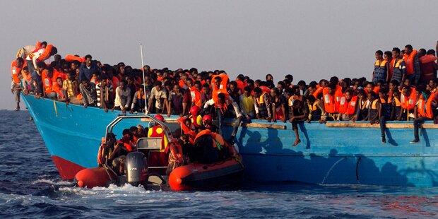 Acht Migranten tot vor Küste Libyens geborgen